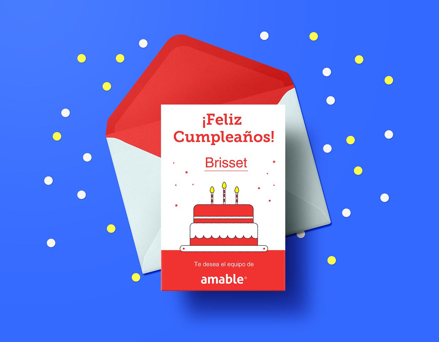 精緻的24張生日卡片設計欣賞