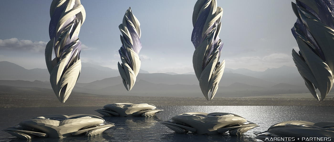 #spacescraper #skyscraper #architecture #conceptdesign #conceptart #parametric #parametricism #starchitect