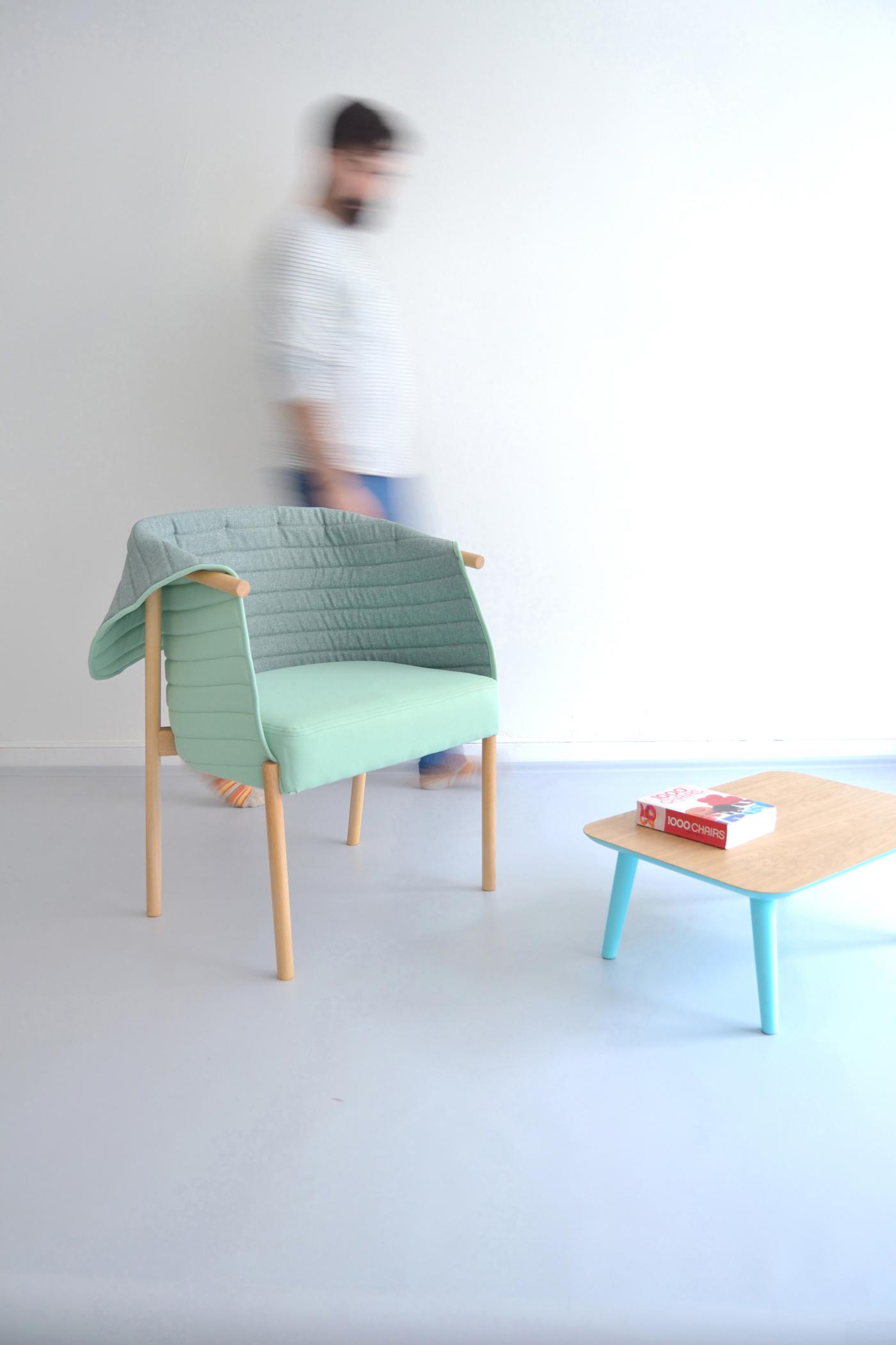 Reves chair silla rev s on behance for Studio design sillas