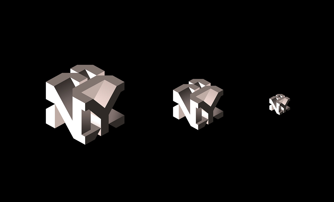 cube 3D festival innovation sawdust fast company logo monogram