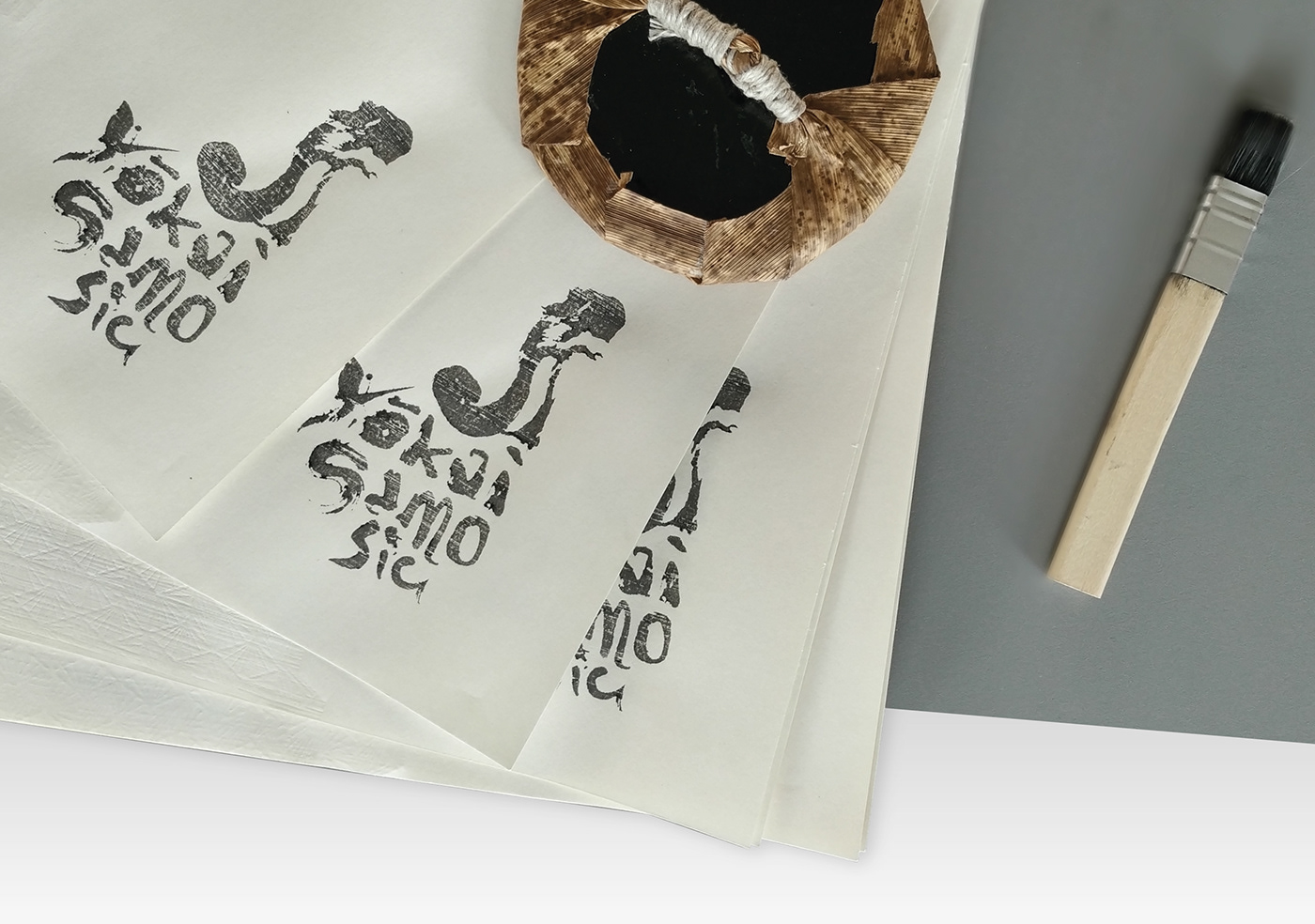 mokuhanga package printmaking ukiyo-e woodcut woodprint yokai hand demon woodblock