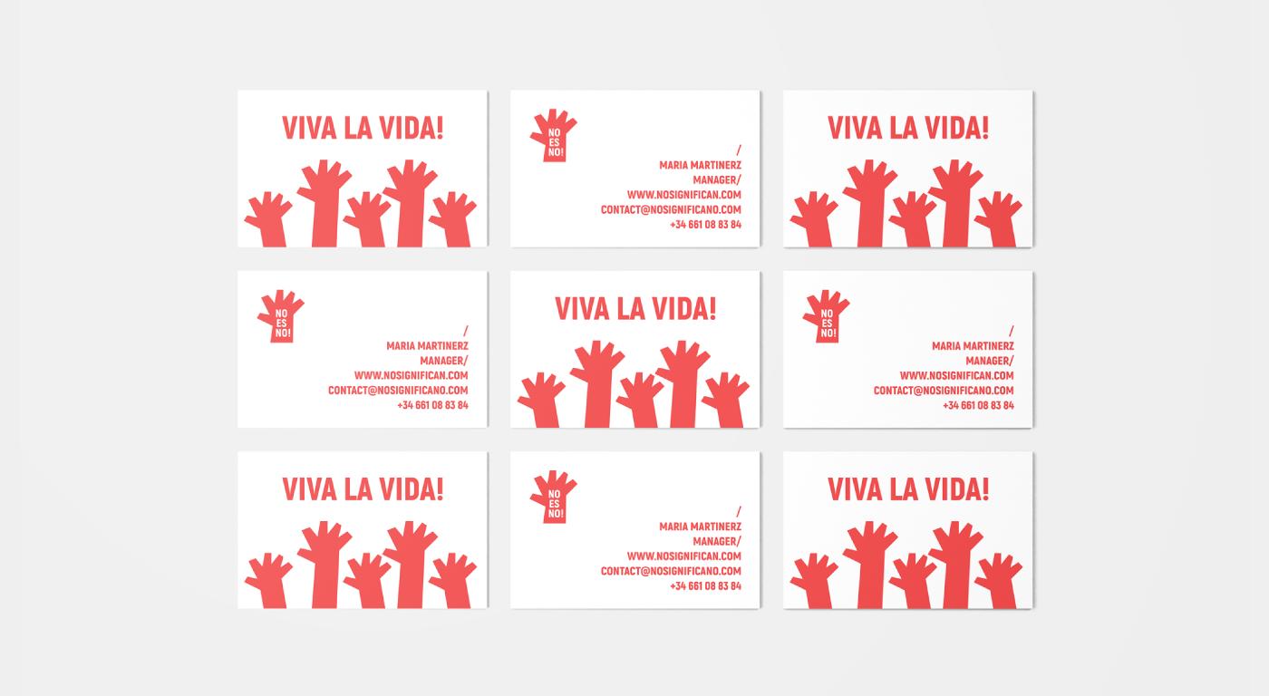 spain espagnol feminism feminismo red organisation foundation branding  brand no és no