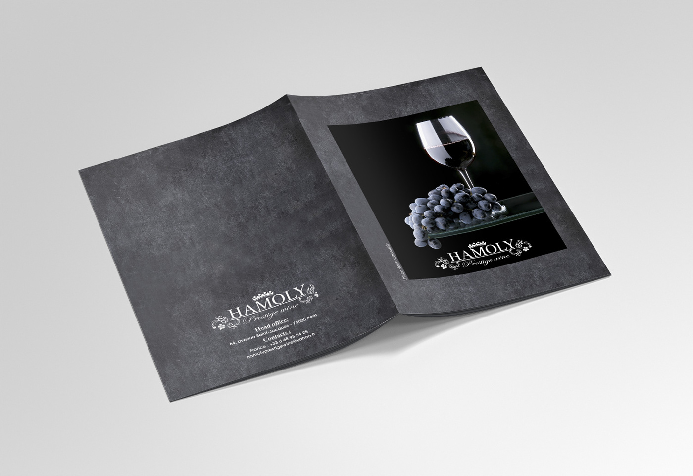 brochure wine prestige Catalogue