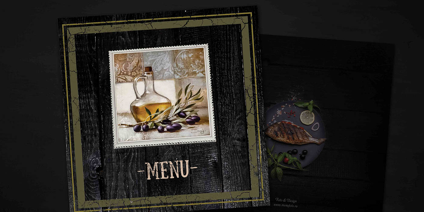 Photo Design For Restaurant Menu In Italic Style Print Menu Food Photo Idea And Food Style Search By Muzli