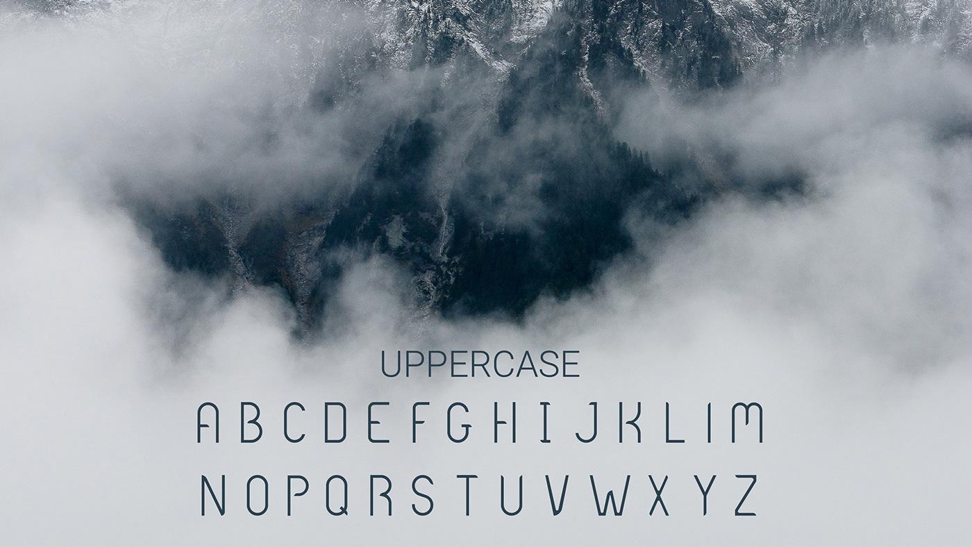 free freebie Free font type Typeface sans serif modern Display font typography