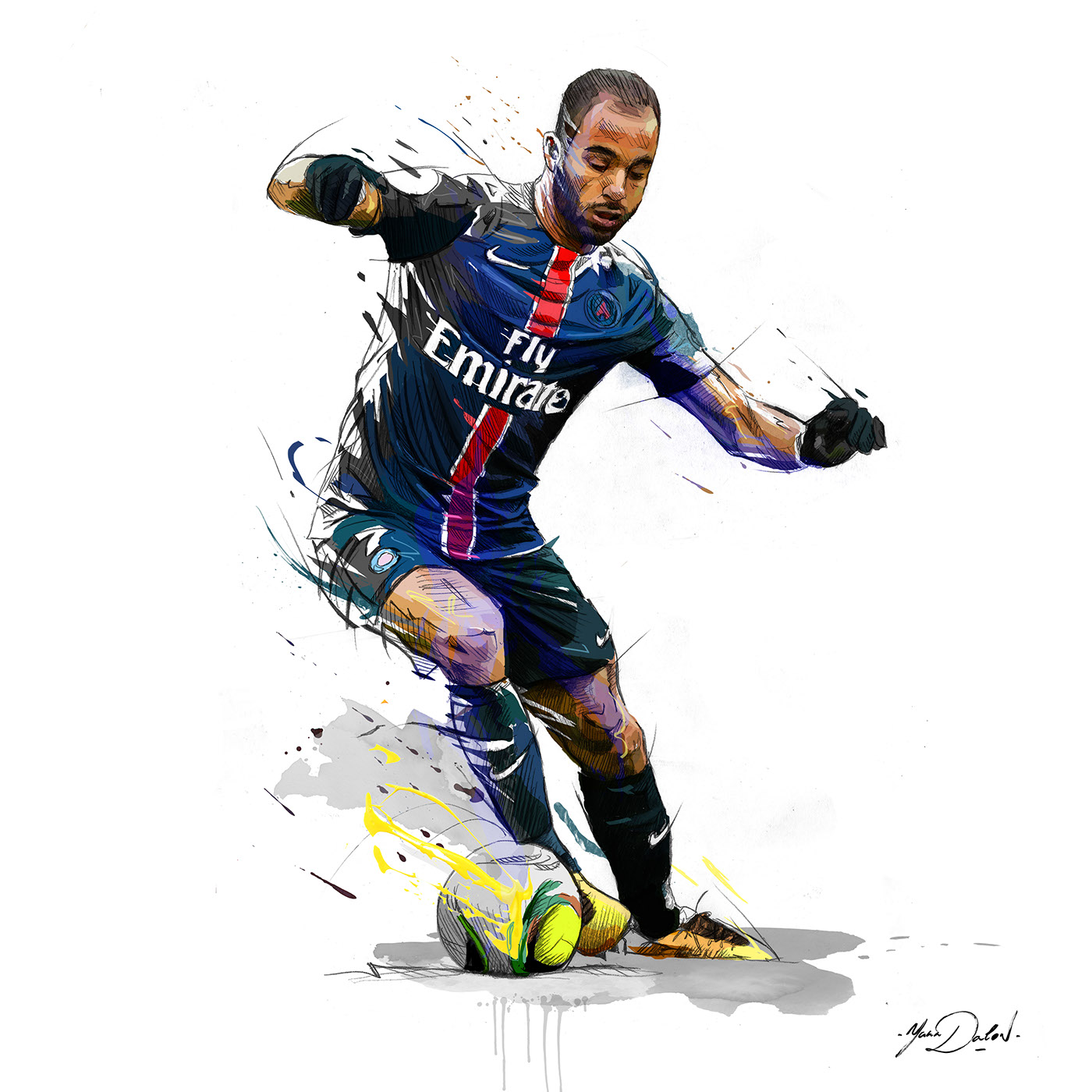 Tottenham Sign Lucas Moura From Paris Saint Germain: Lucas Moura On Behance