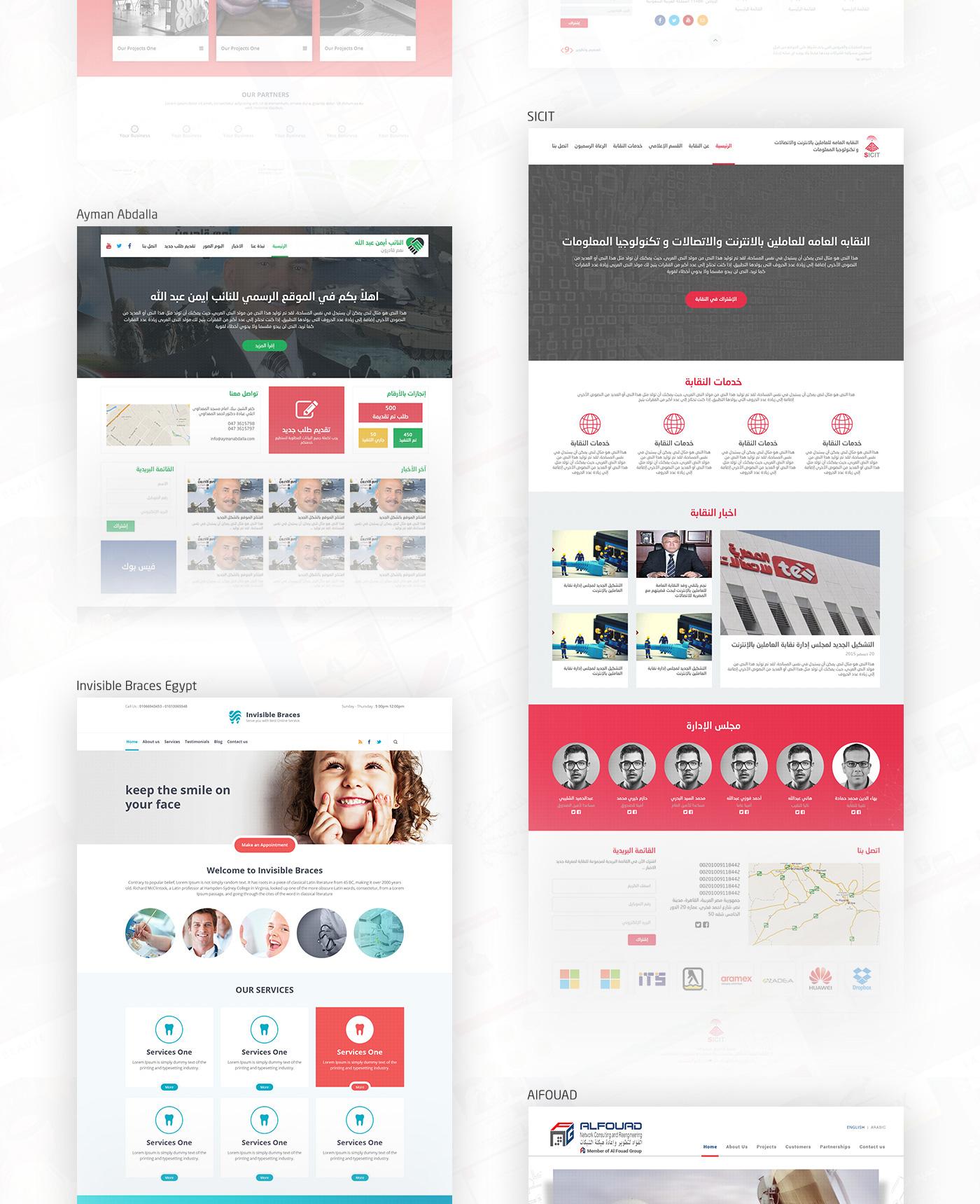 Webfolio design Web HTML css css3 jquery wordpress