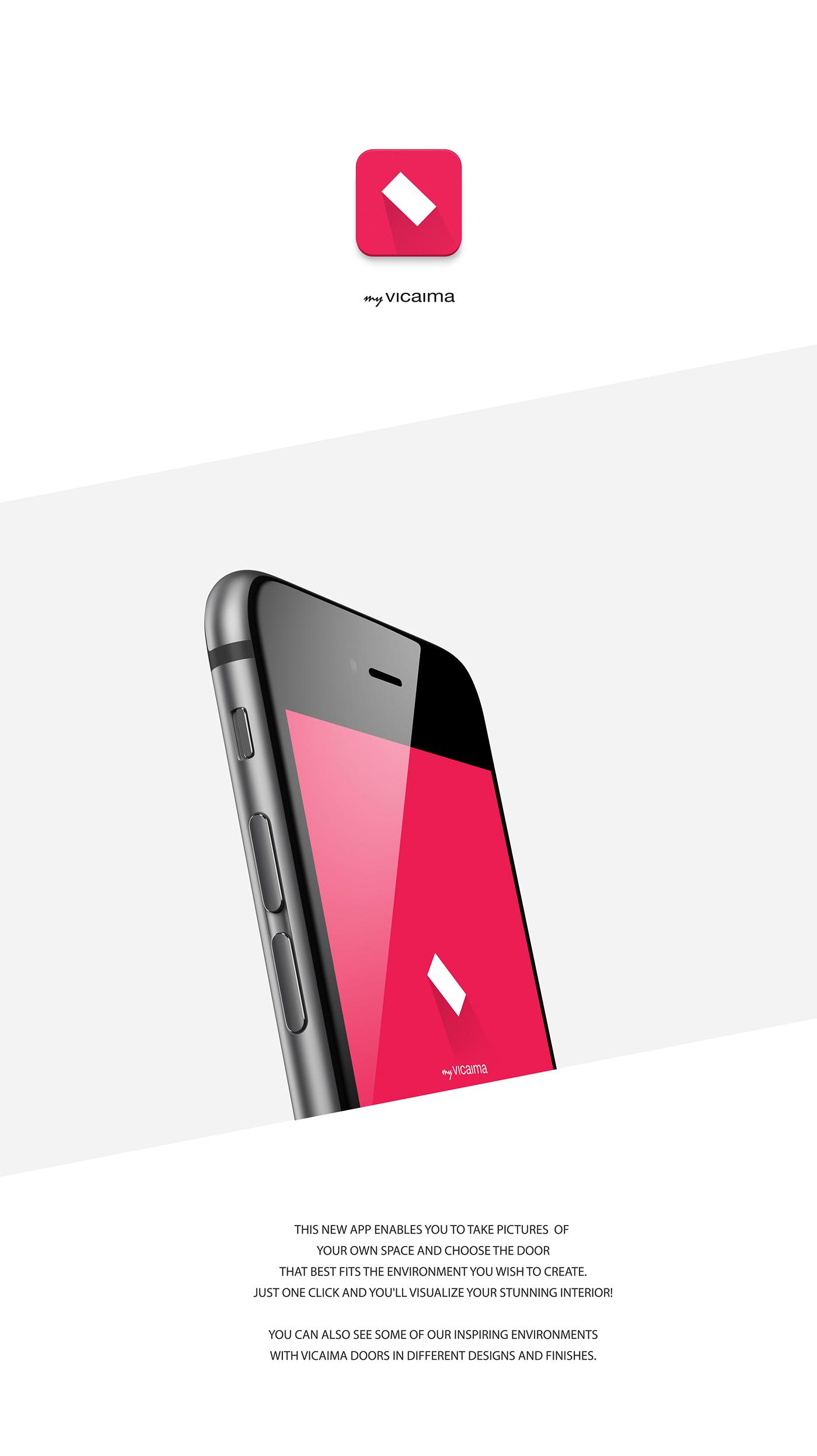 ygodesign.com  sc 1 st  Behance & App MY VICAIMA on Behance