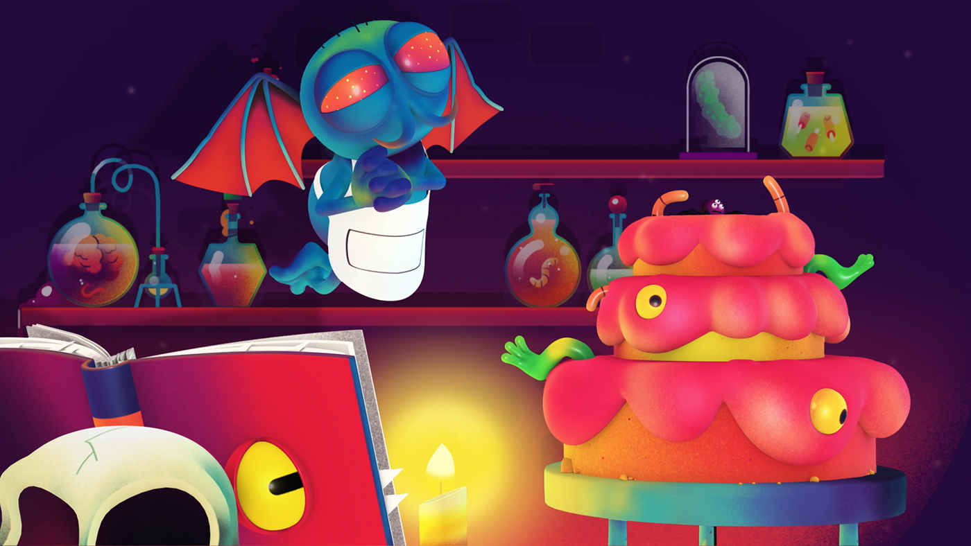 Nick Halloween Idents on Behance