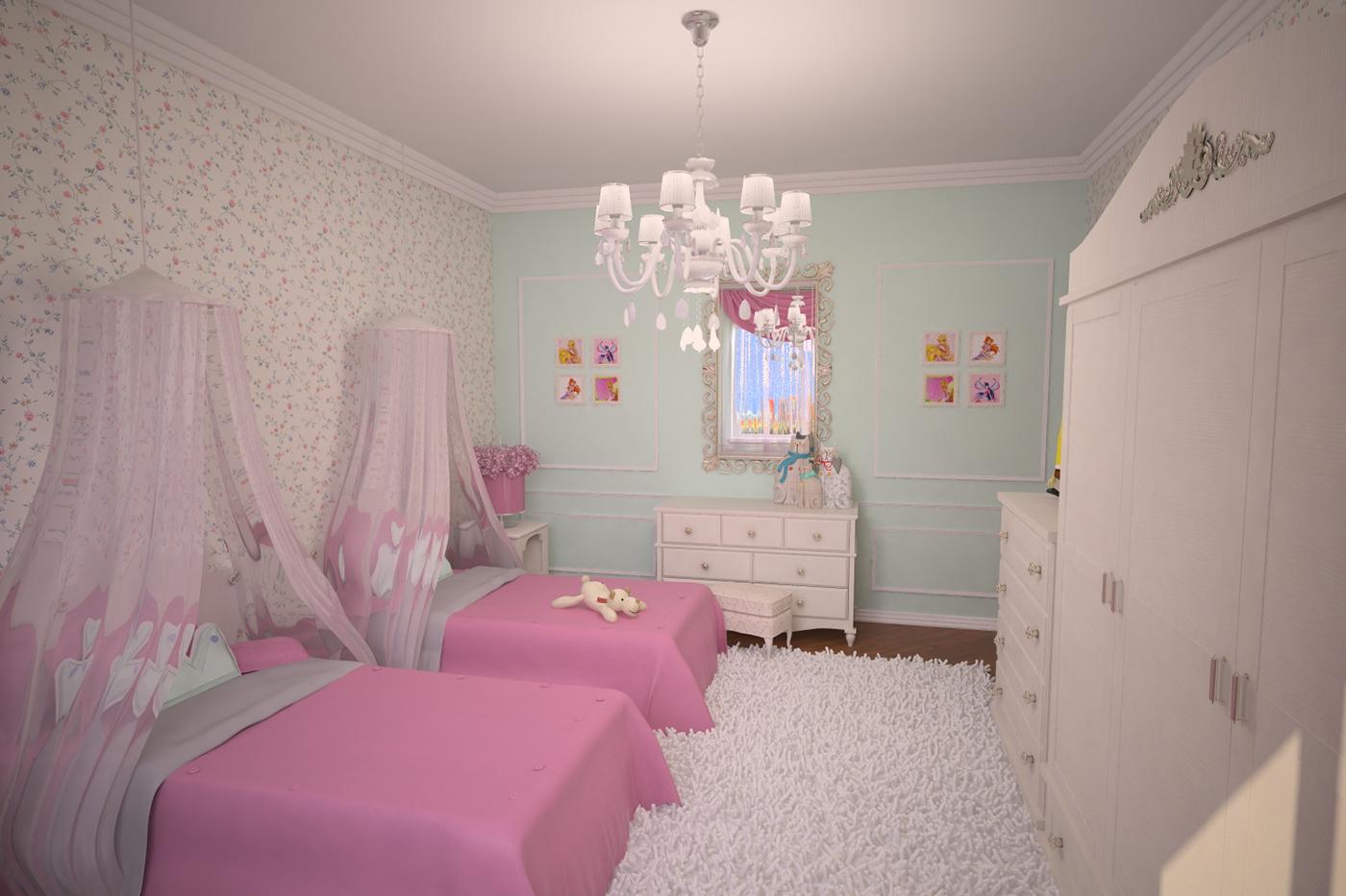 高品質的18個粉紅色房間欣賞