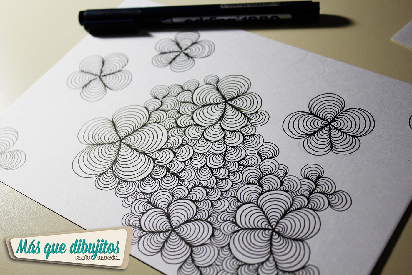 Como Hacer La Libreta De Dibujo De Marinetteprodigiosa: Proceso De Dibujo Para Tapa De Cuaderno On Behance