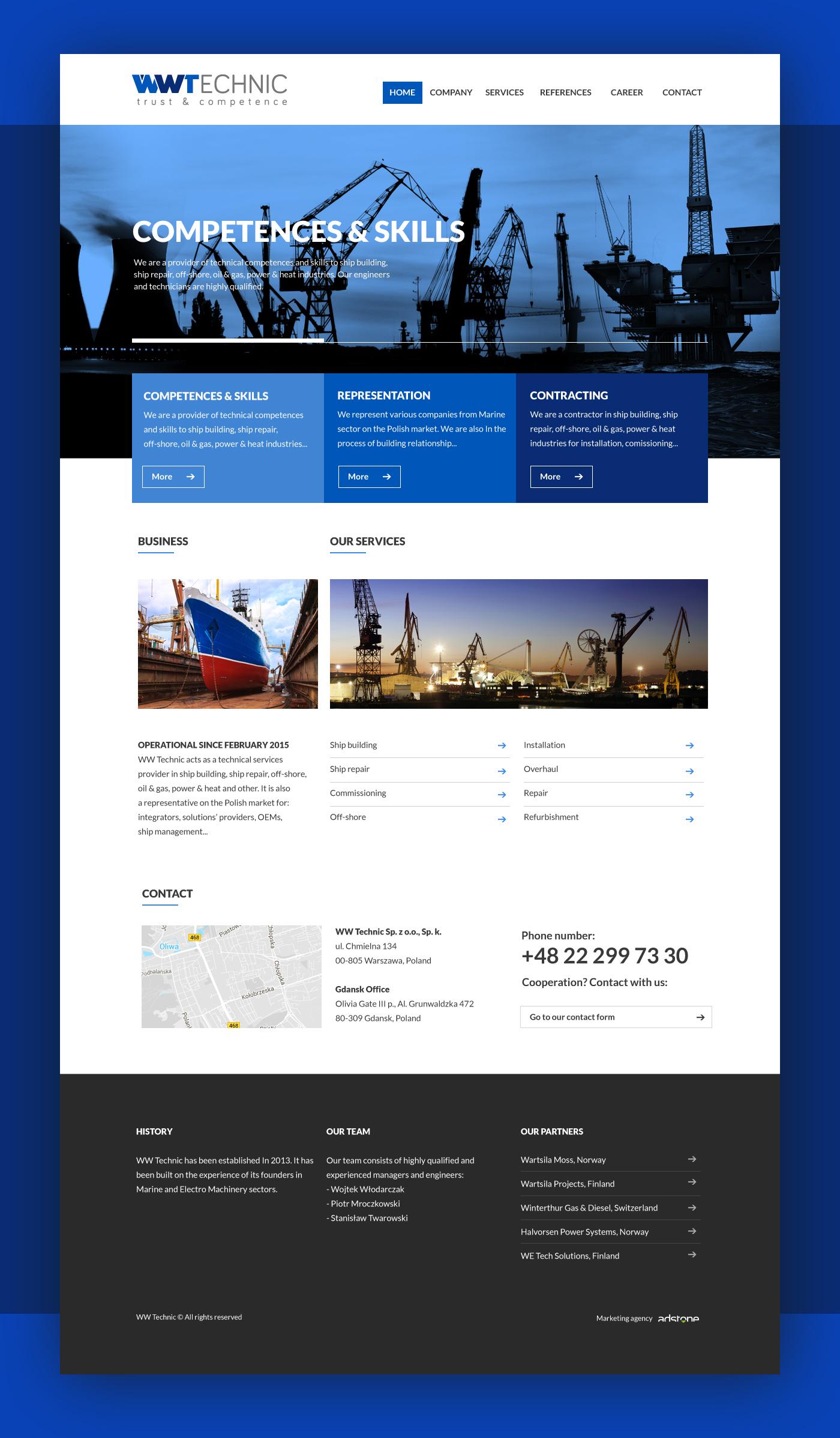 Adobe Portfolio UI ux Web design graphic joomla html5 css3 JavaScript Project