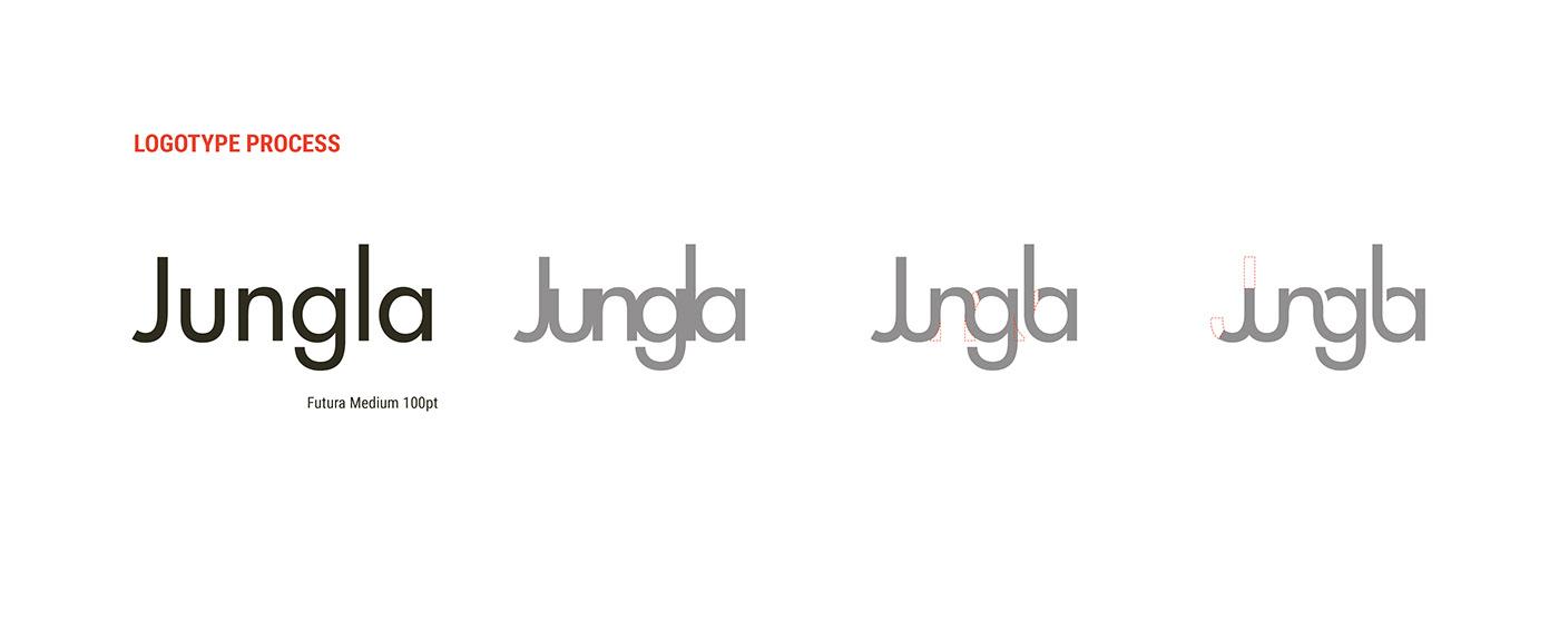 branding  cultural editorial jungla visualidentity centro cultural marca Web Website