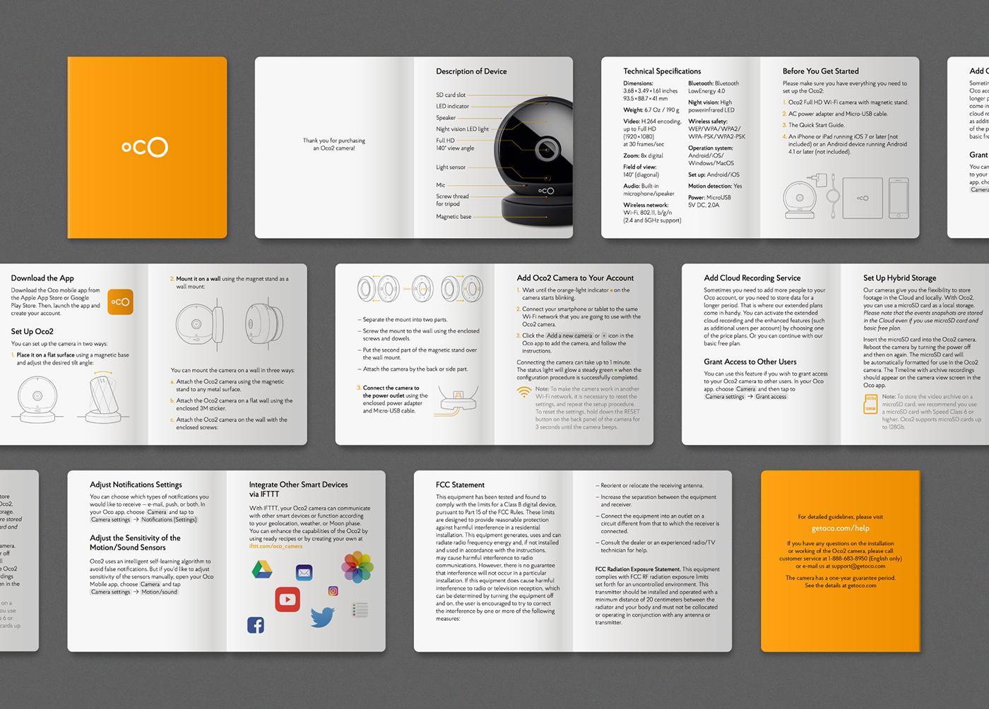 Oco2 package on Behance