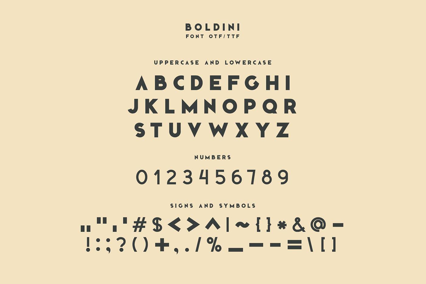 Boldini font family otf svg type typography   Web sans serif desktop
