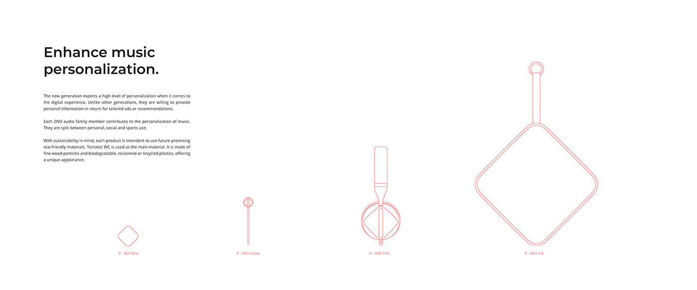 headphones Earbuds speaker Wearable Audio music product design  portable speaker industrial design  TECHWEAR