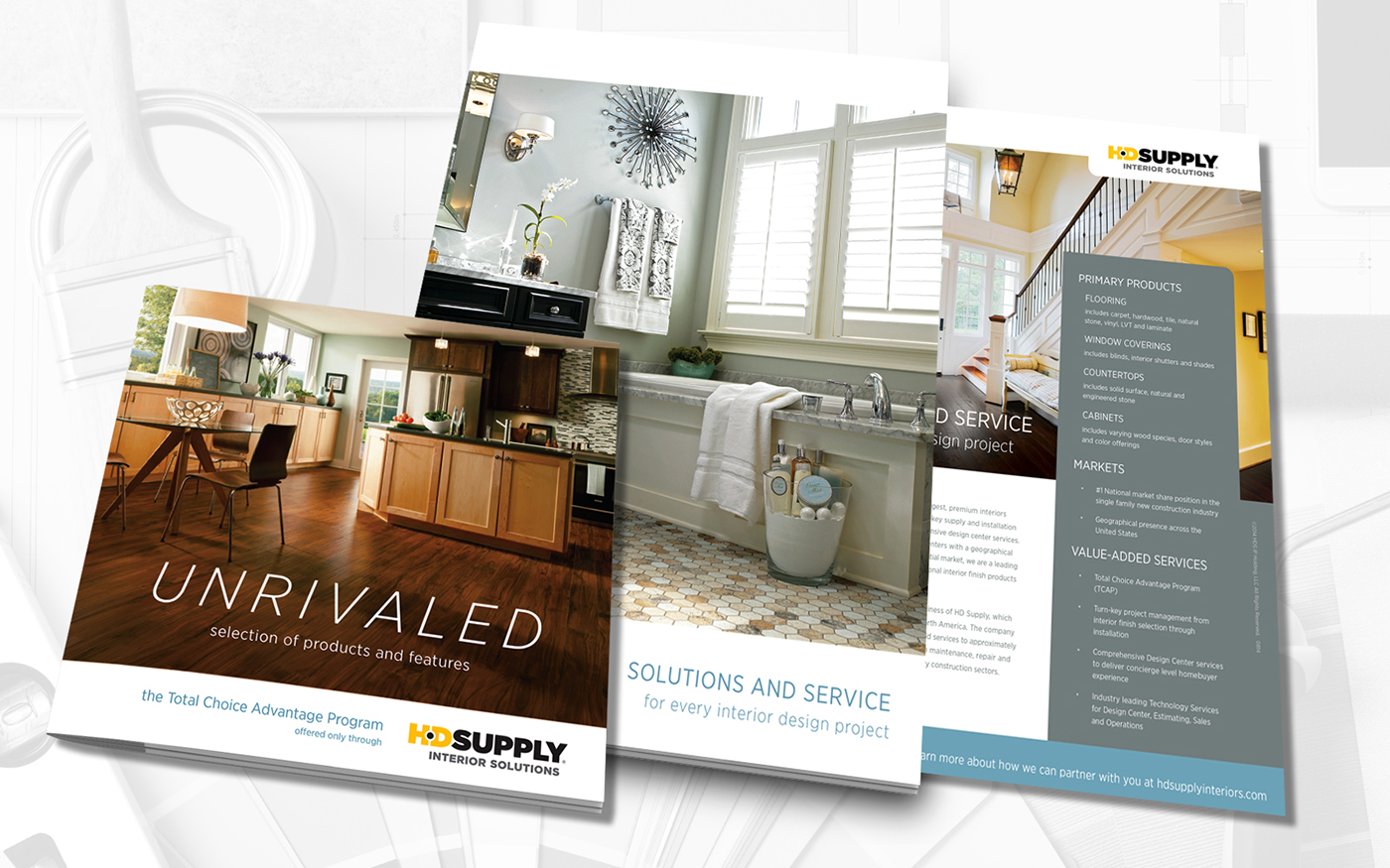 INTERIOR SOLUTIONS, New Collateral On Behance