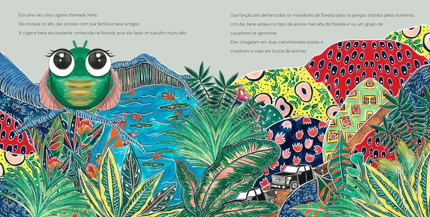 book children childrenbook draw ILLUSTRATION  Ilustração infantil kids Picture picturebook