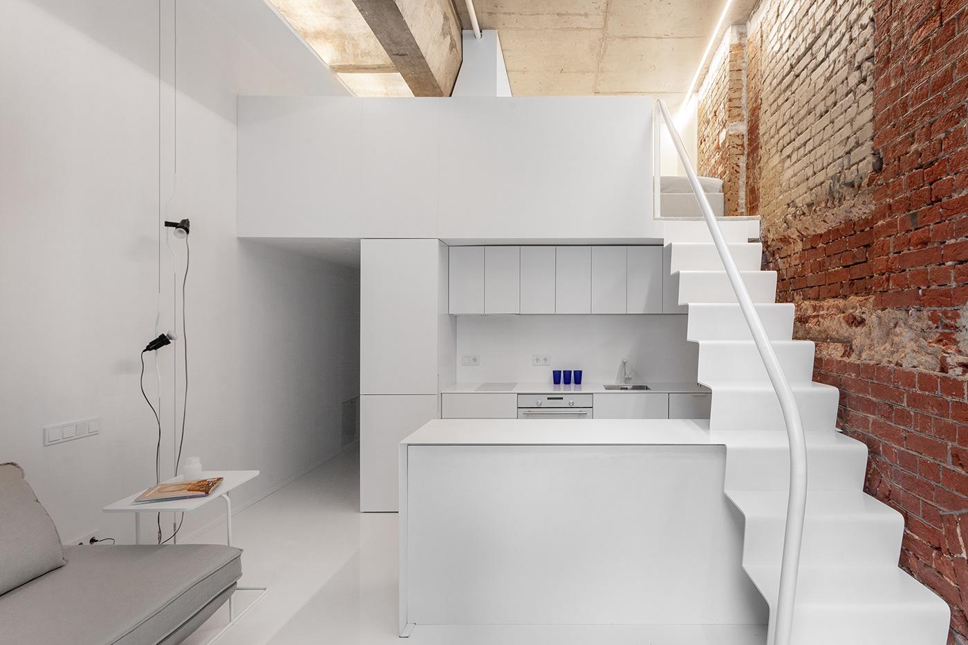 Image may contain: wall, modern and interior