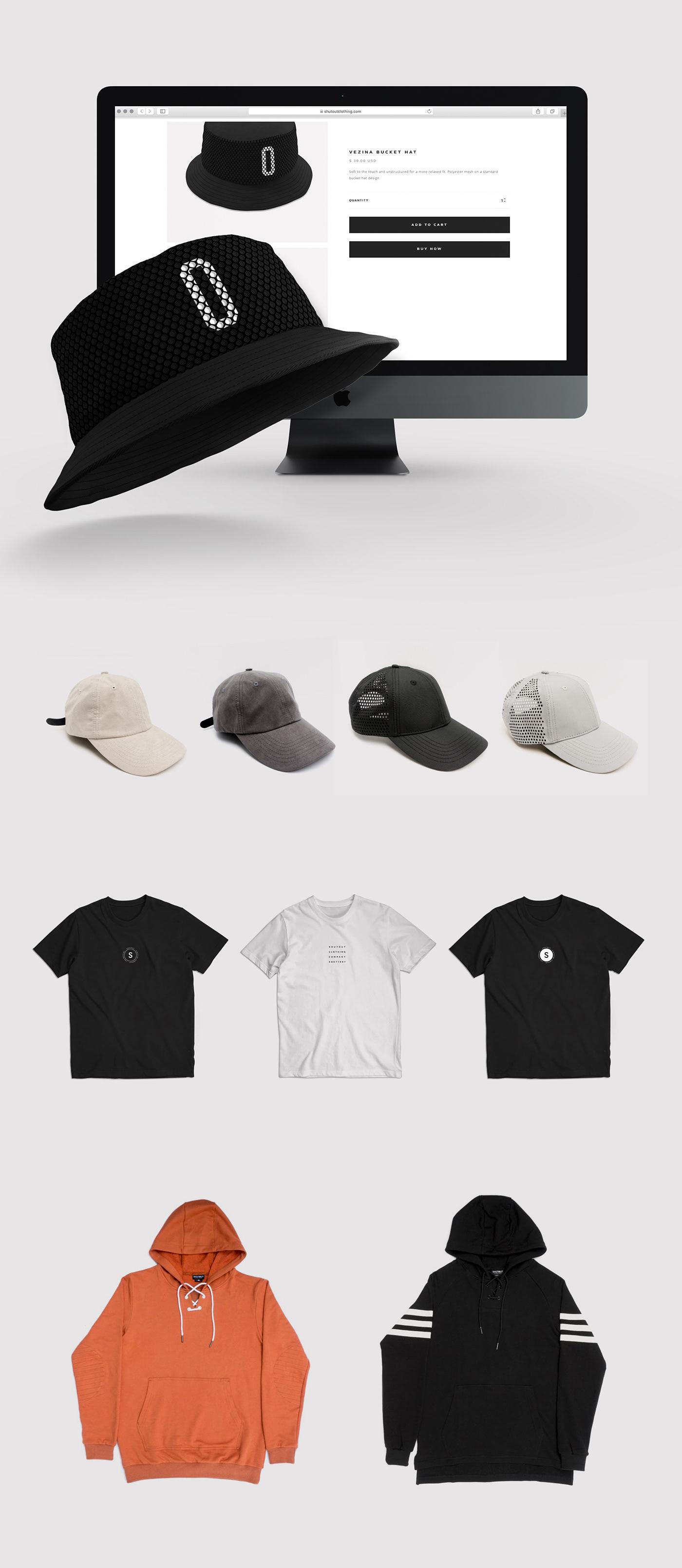 branding  clean Clothing designer minimal simple streetwear Web Design