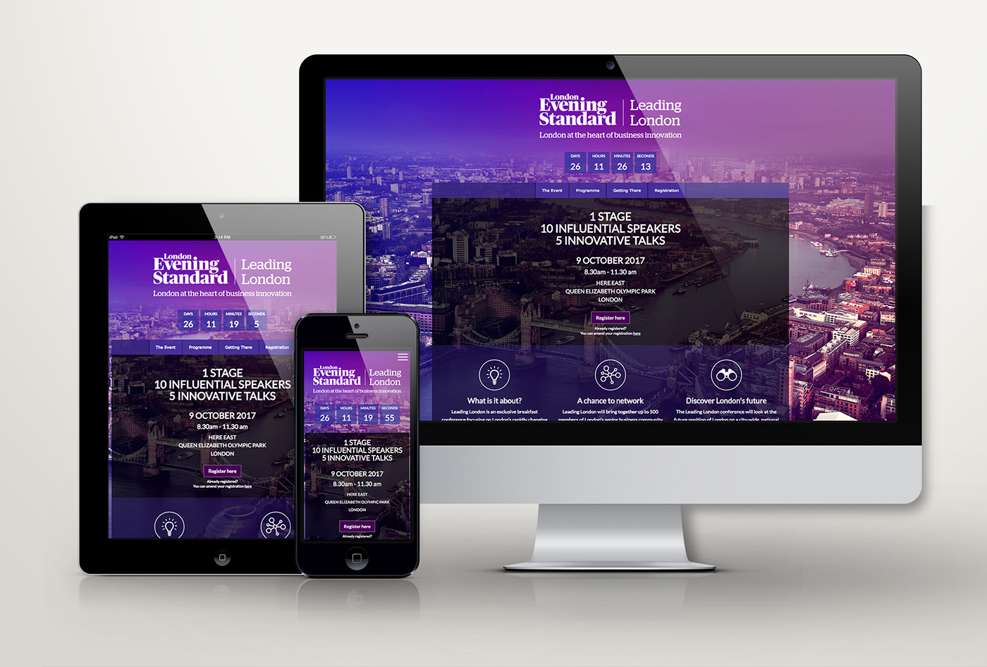 Event Email marketing   Webdesign