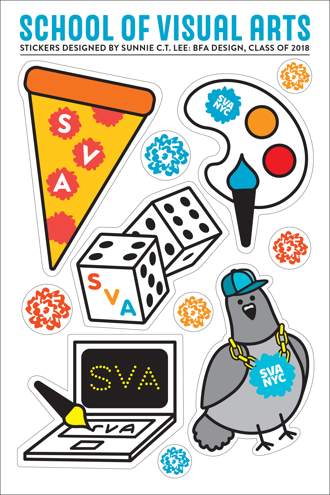 SVA Swag on The National Design Awards Gallery
