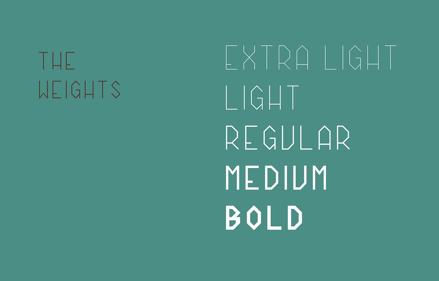 Batten CPC - Font Weights