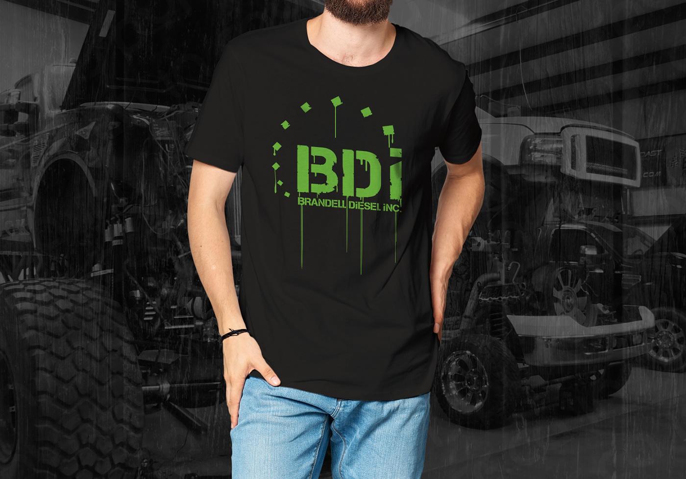 BDI Drippy logo paint YYC