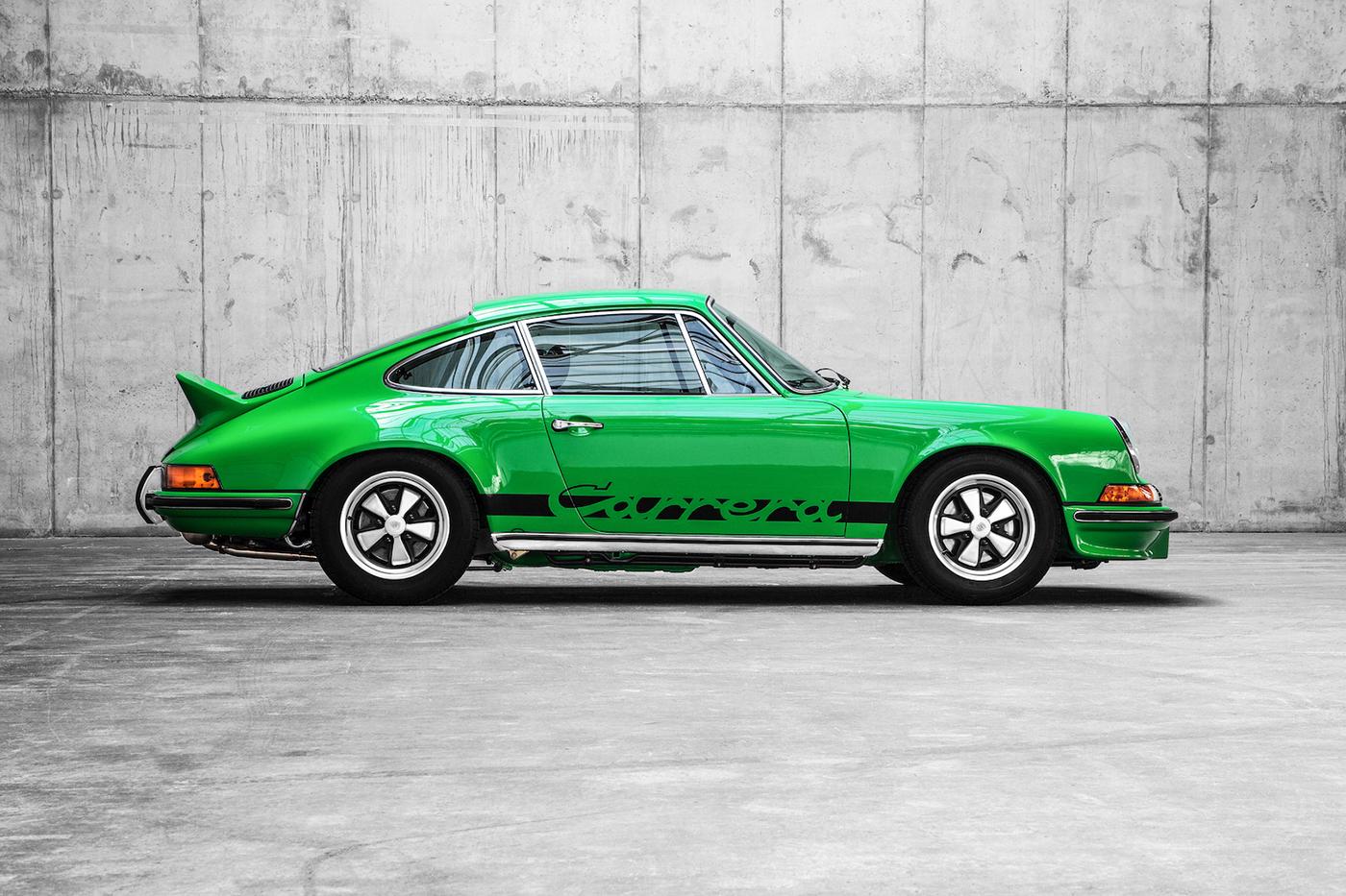 Porsche Carrera Rs 2 7 On Behance