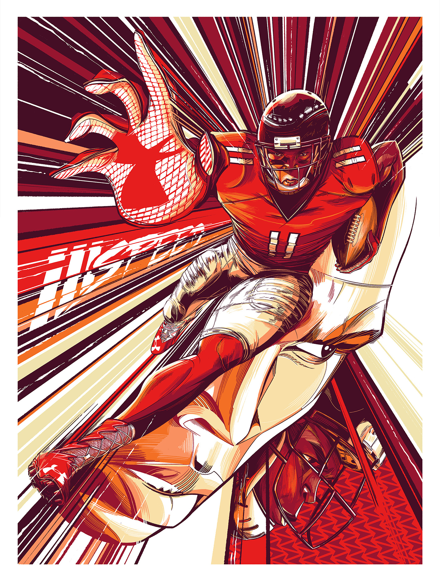 Under Armour / Julio Jones on Behance