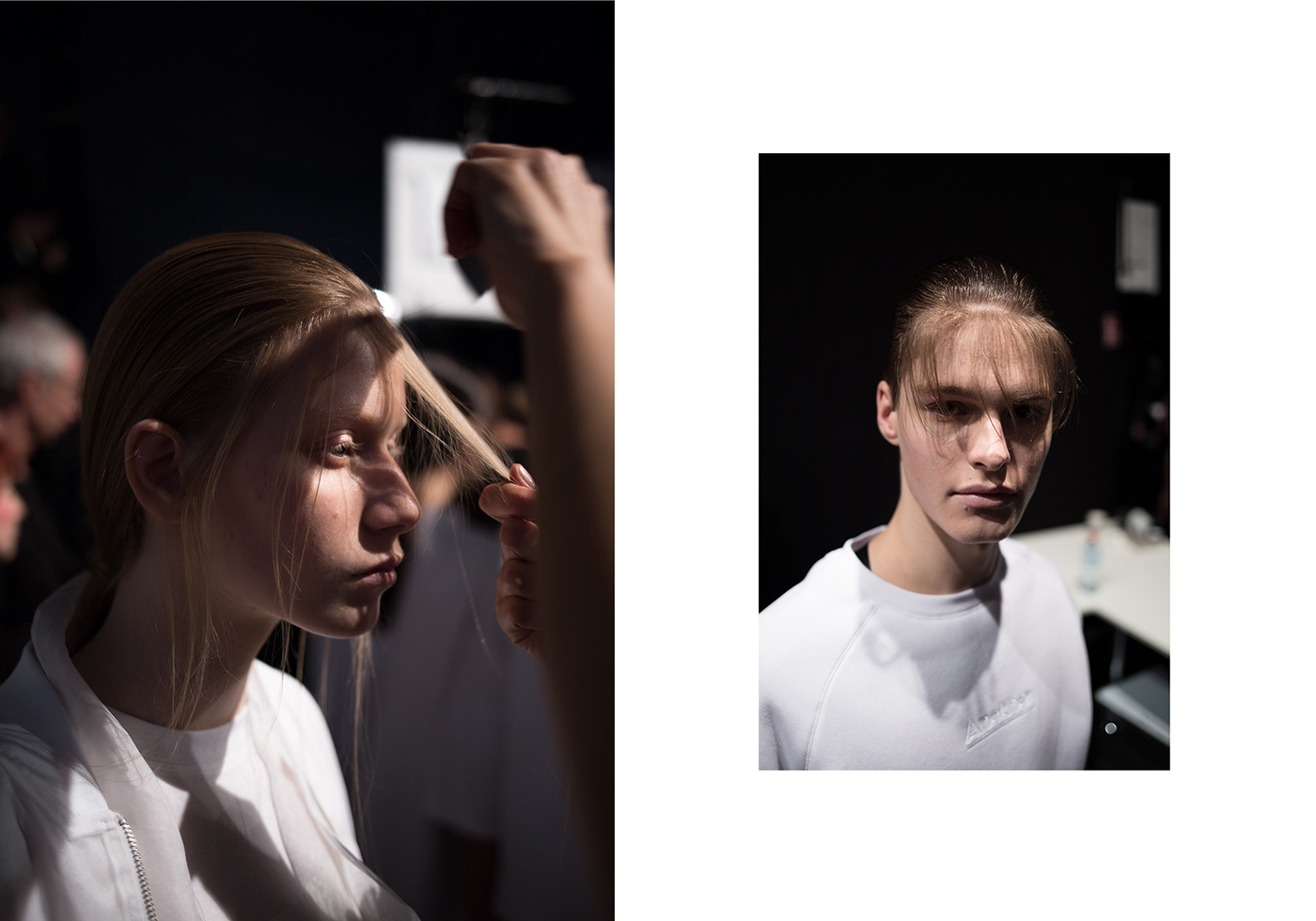 Backstage Photography at ODEUR - MBFW Berlin 2016