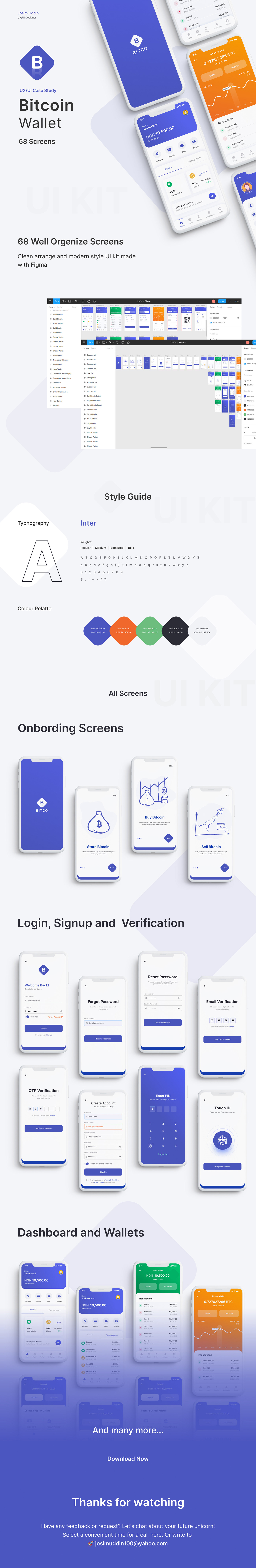 app design banking app bitcoin Case Study crypto currency trading ui design UX design WALLET