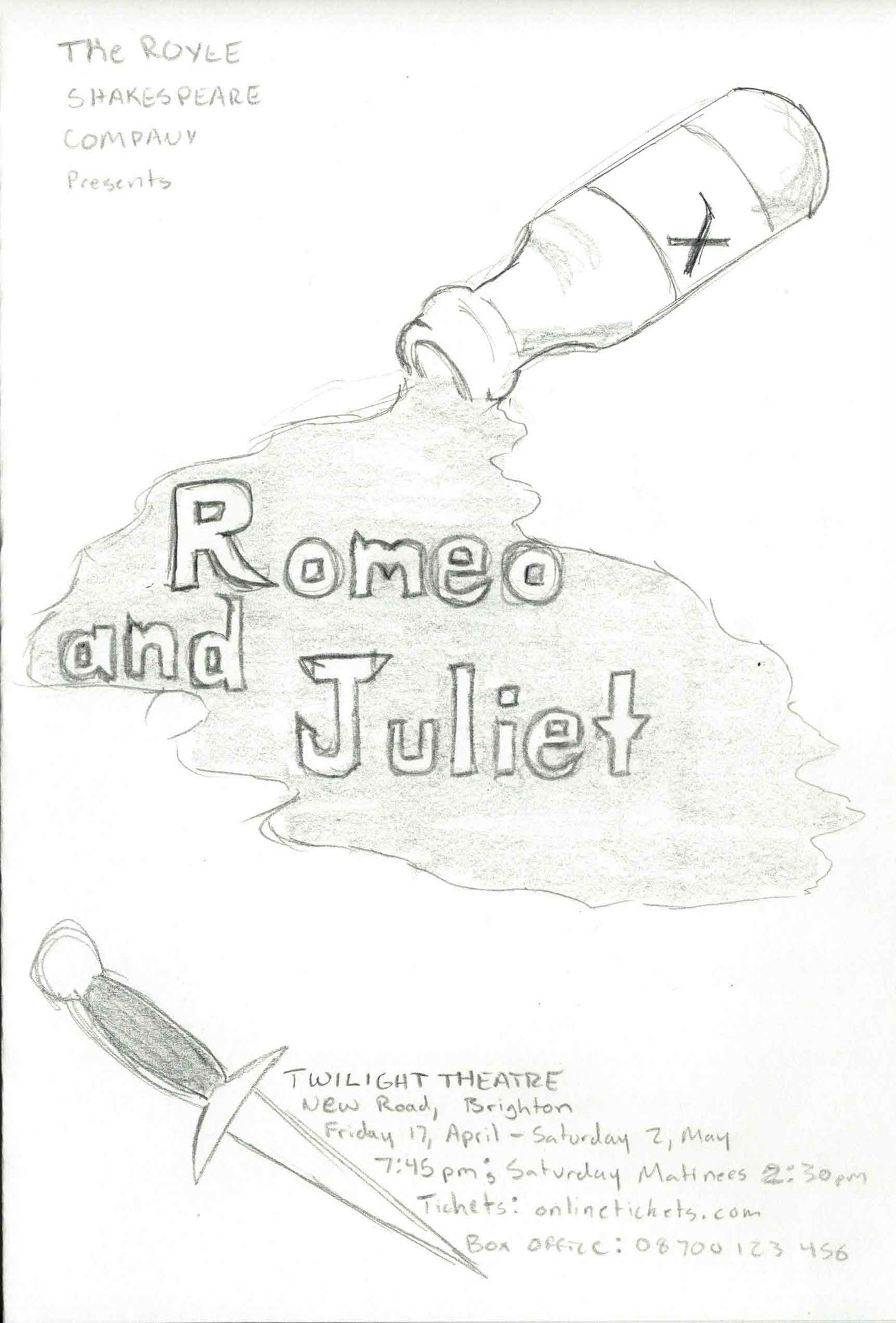 Poison Bottle From Romeo And Juliet
