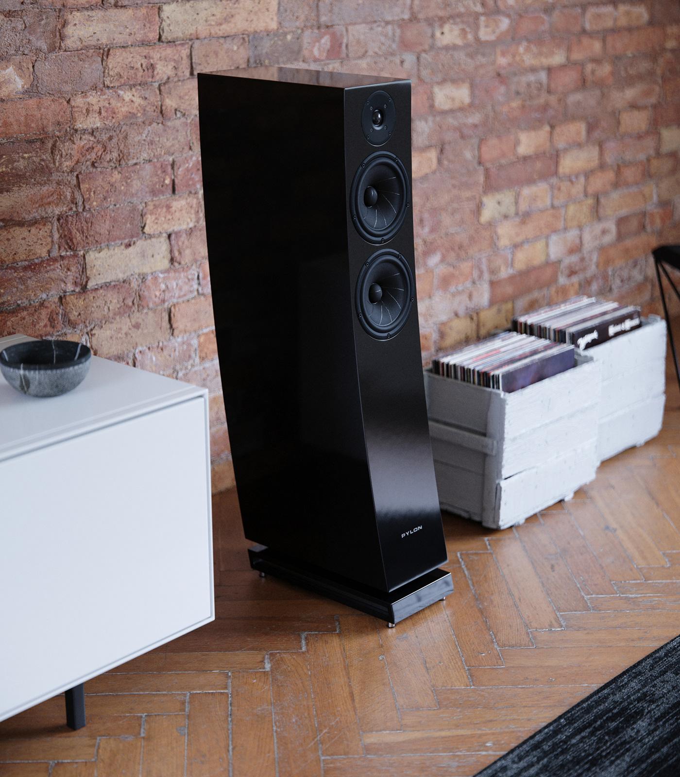 3dsmax Audio audiophile corona renderer hiend product rendering Renders speakers