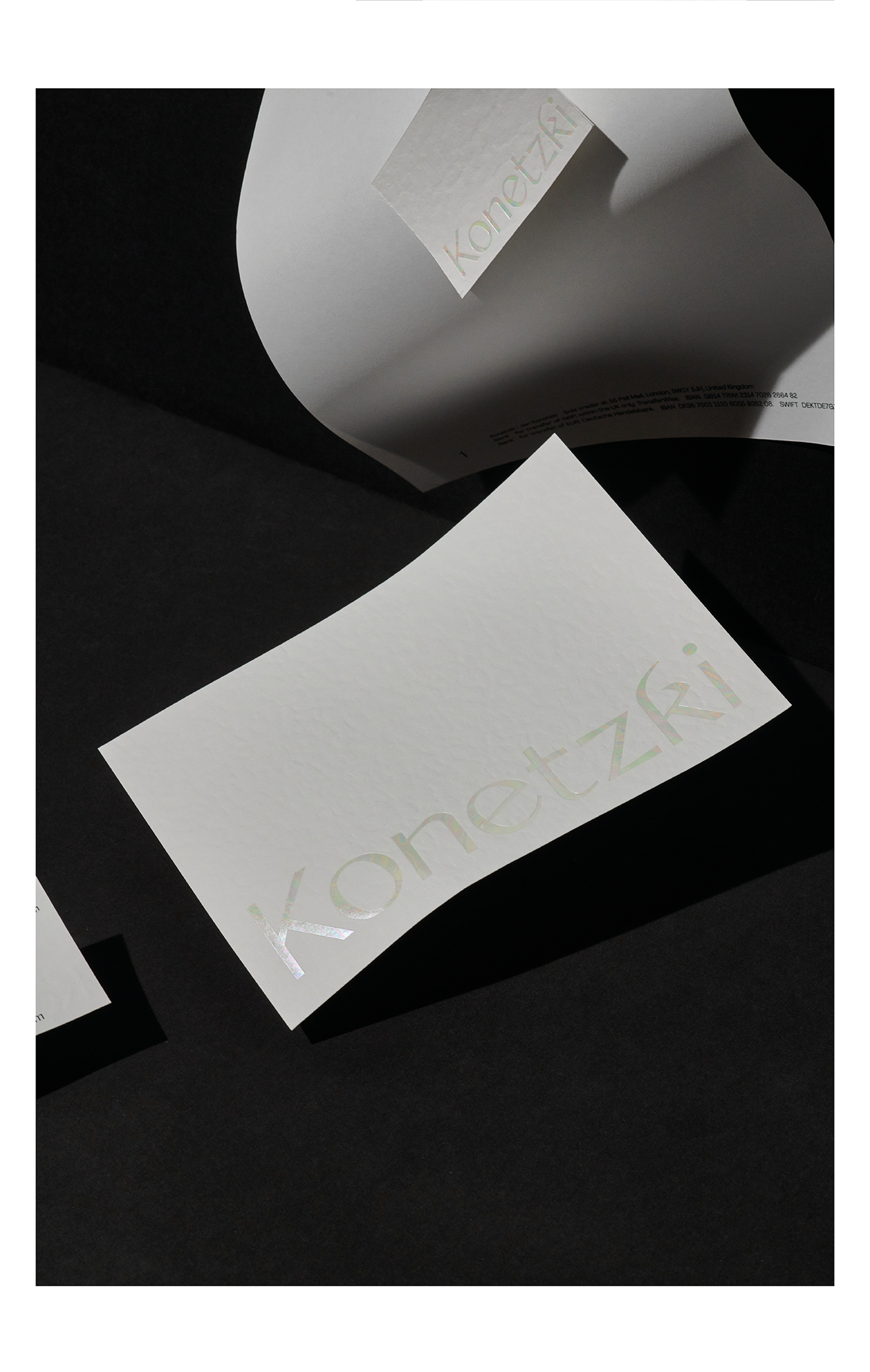 branding  Corporate Design embossing Konetzki Magic   paper wine