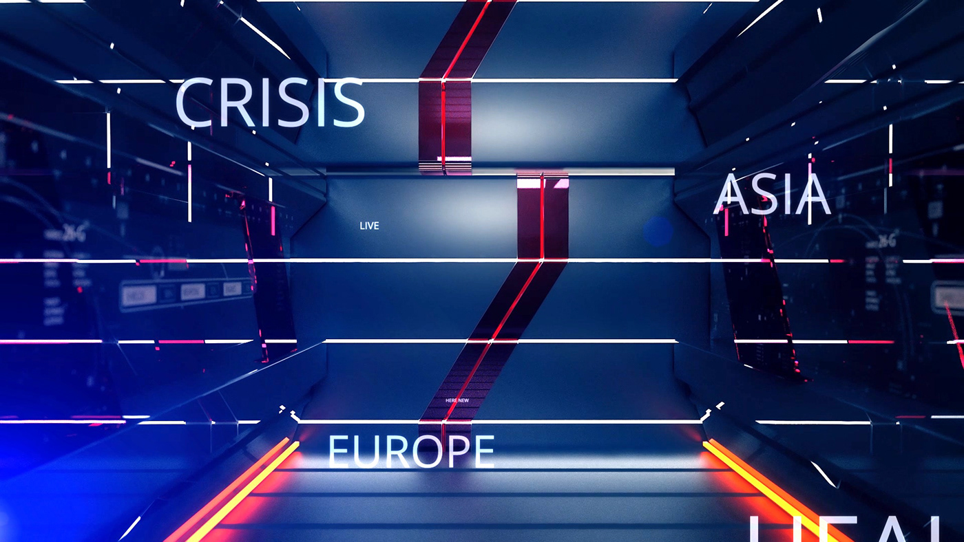 branding  broadcast countdown Ident intro news opener teaser TV ID youtube