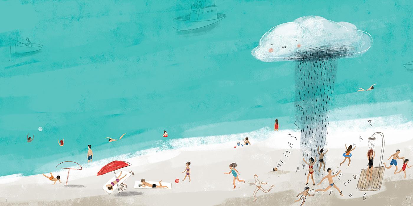 art book children digital ILLUSTRATION  kids Picture
