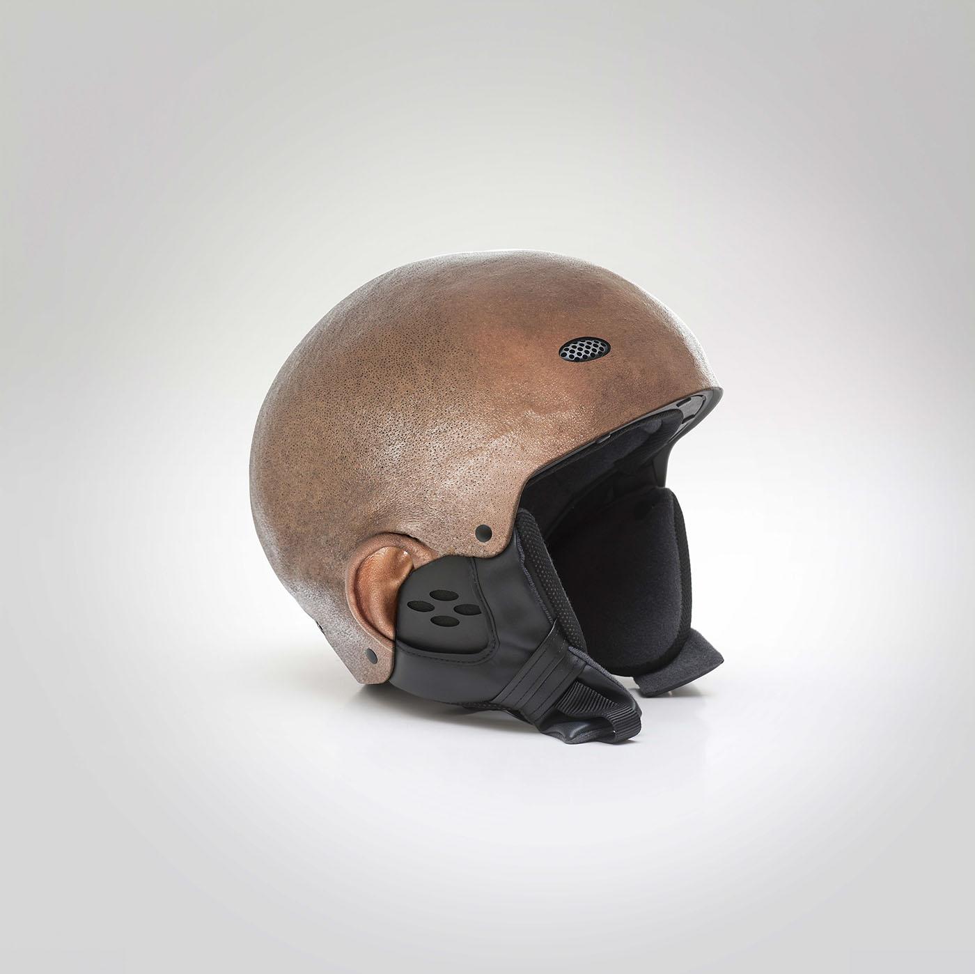 helmets human heads manipulation