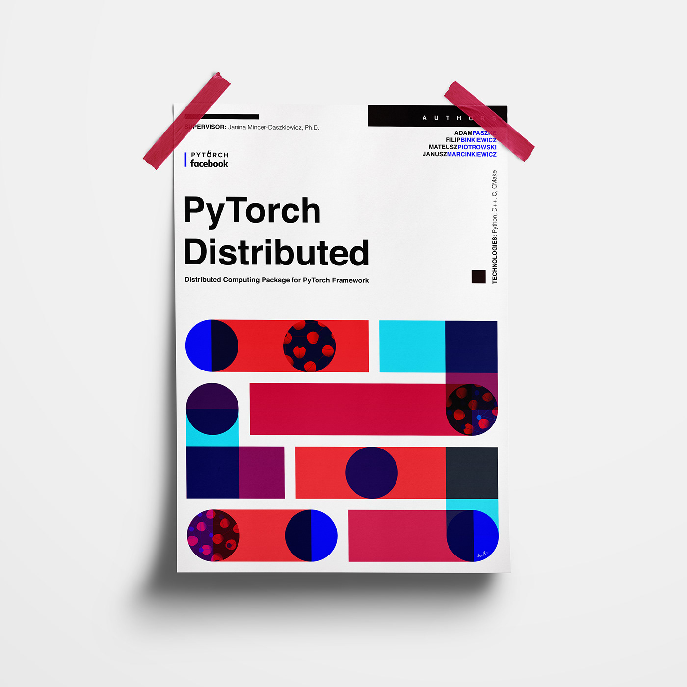 PyTorch Distributed | poster & animation on Behance