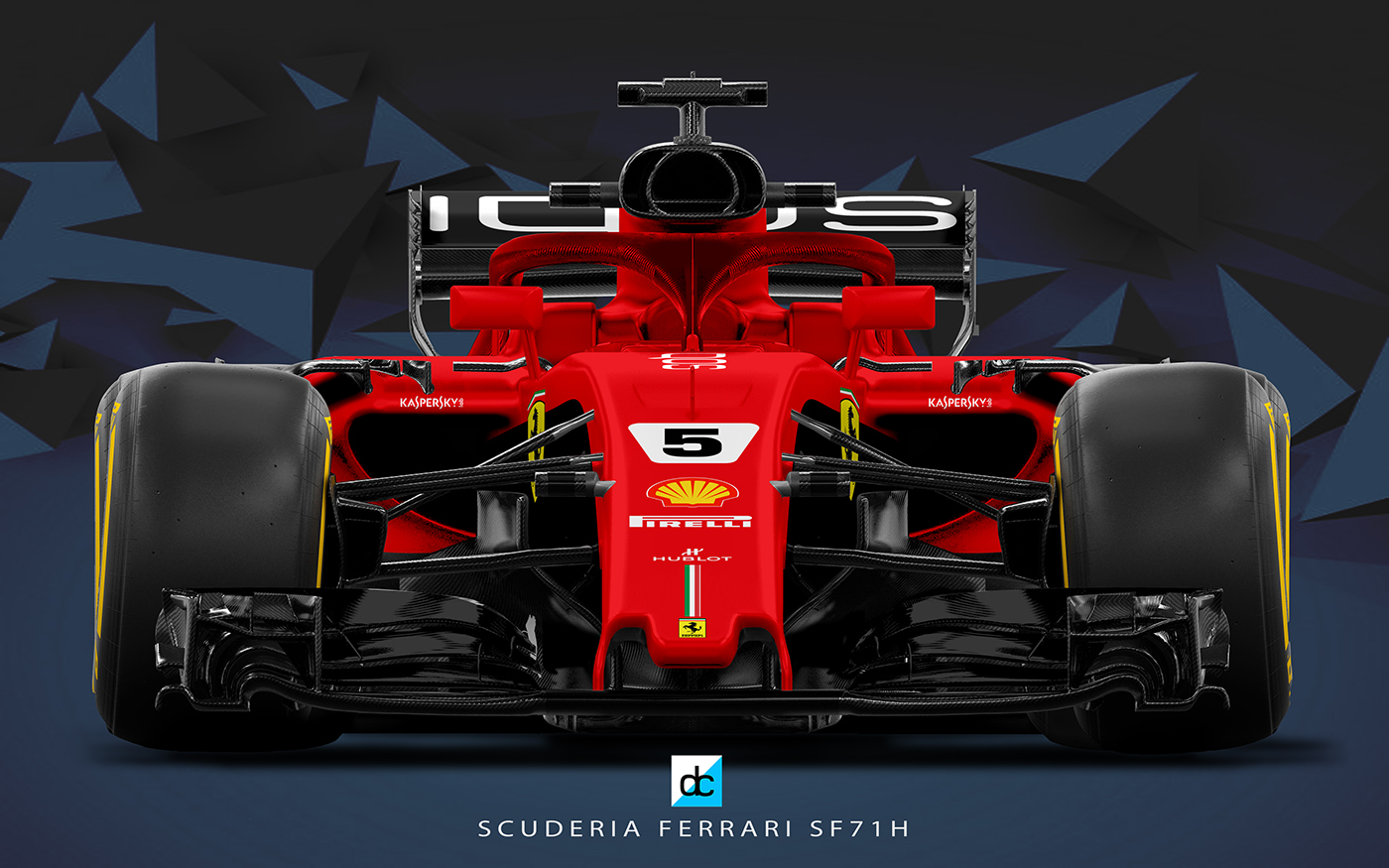2018 scuderia ferrari f1 concept liveries on behance. Black Bedroom Furniture Sets. Home Design Ideas