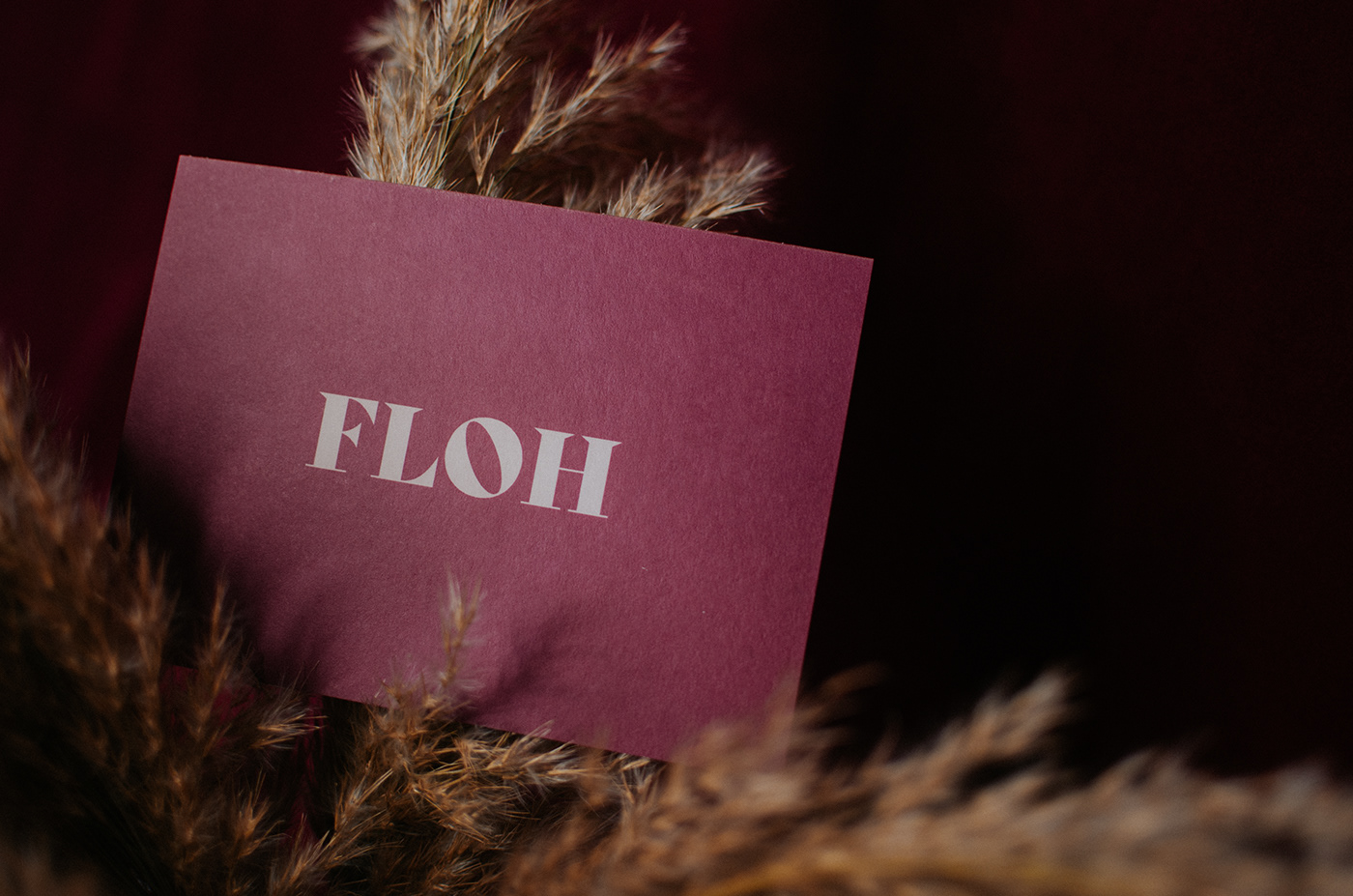 Floh greeting card