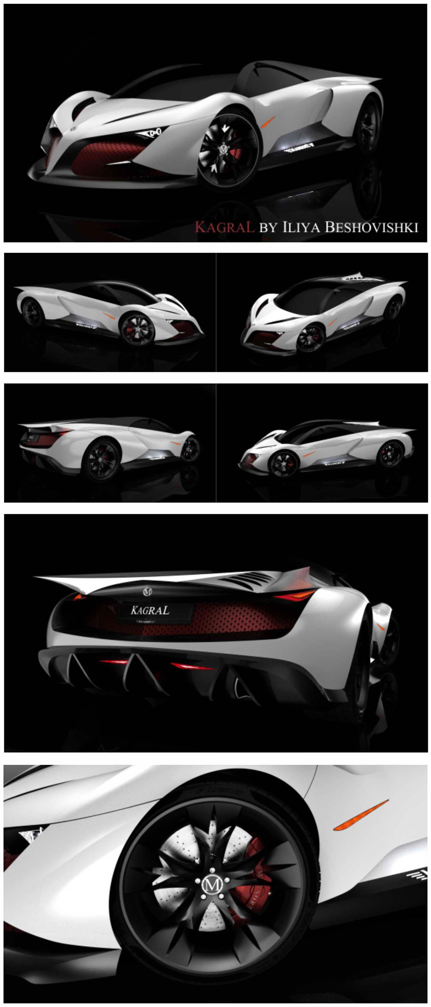 design concept automotive   Super Car