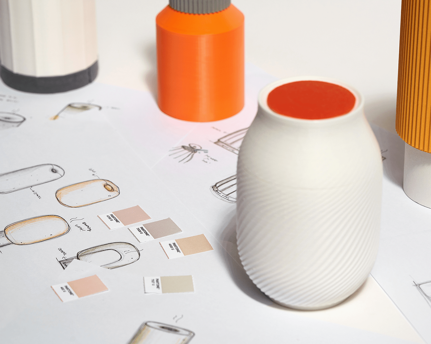 3D craft diffuser foundfounded industrial design  product product design  산업디자인 제품디자인 파운드파운디드