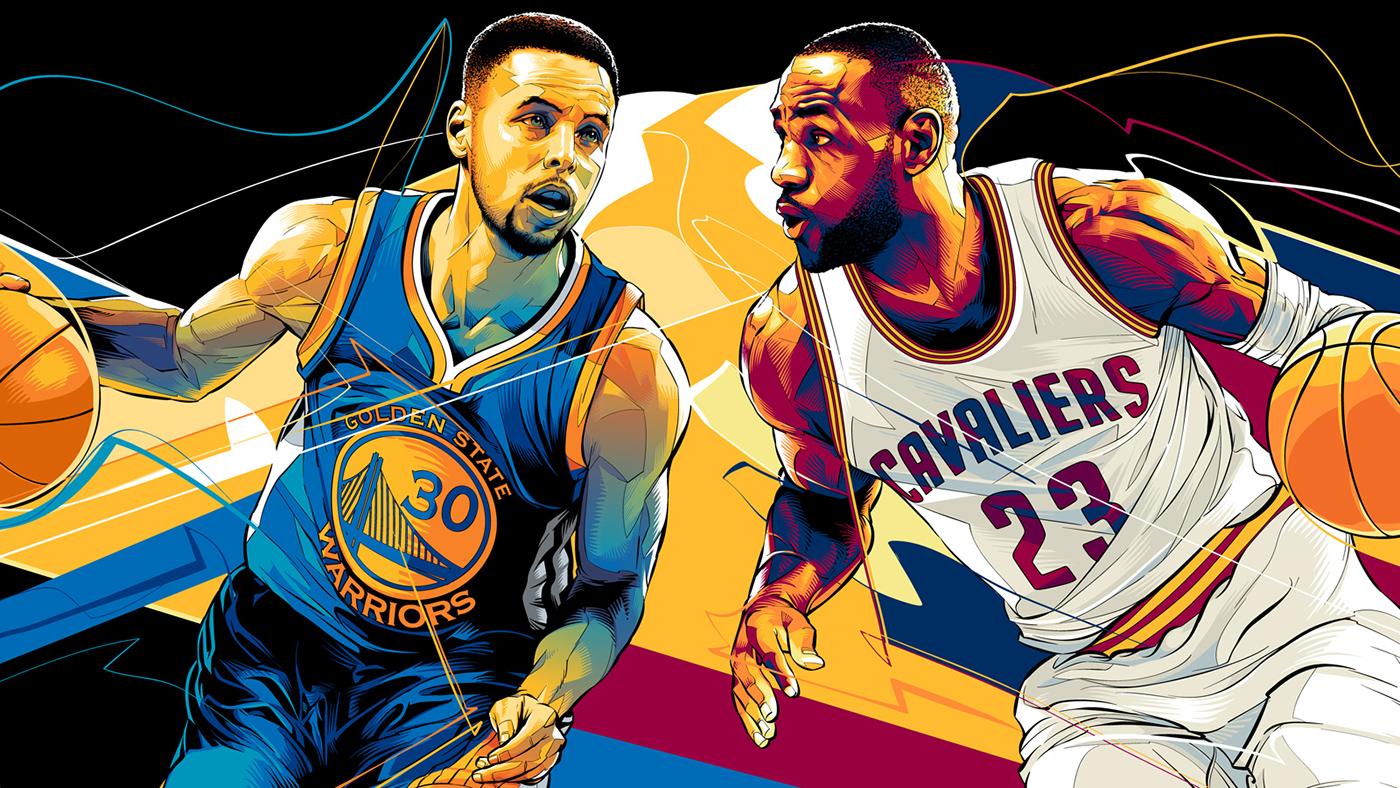 NBA Finals 2016 - ESPN on Behance