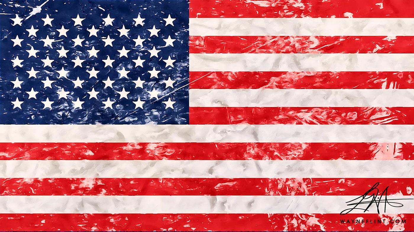 art artist Military north america politics superpower united states usa Wayne Flint