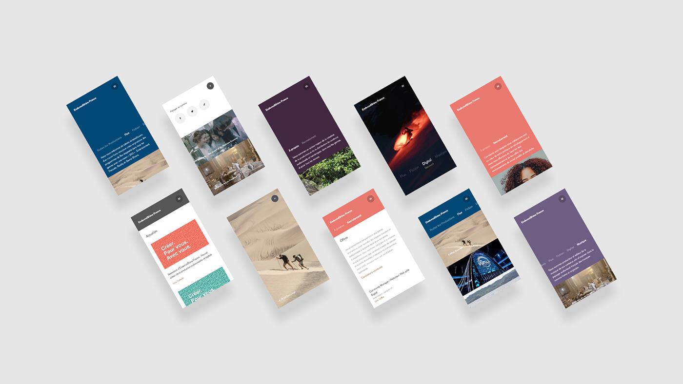 UI / UX ideation mobile navigation Brutalist corporate UI/UX minimalist minimal clean