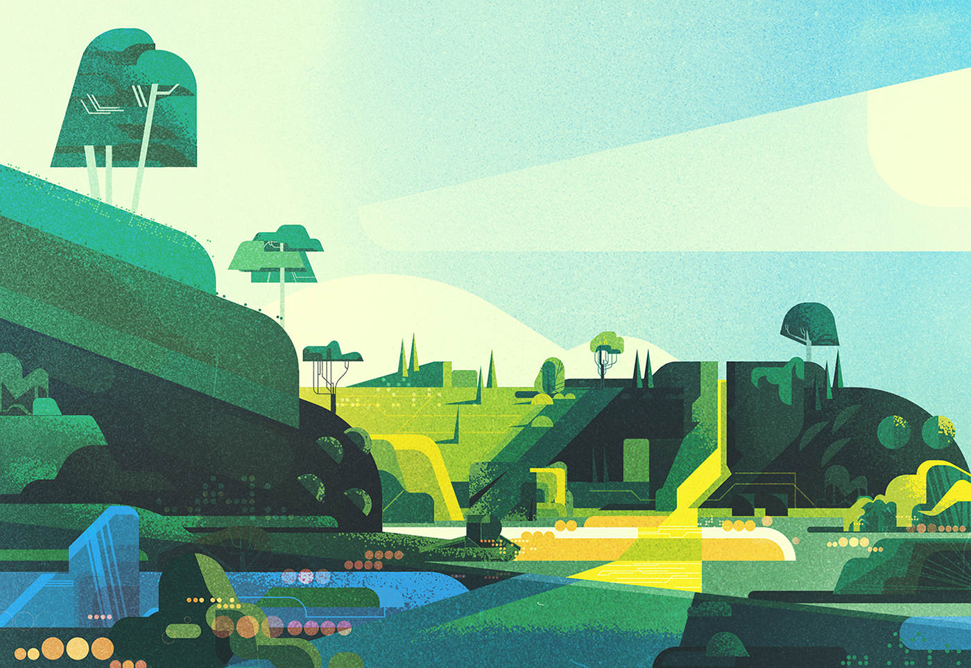 James Gilleard Various Illustration #artpeople