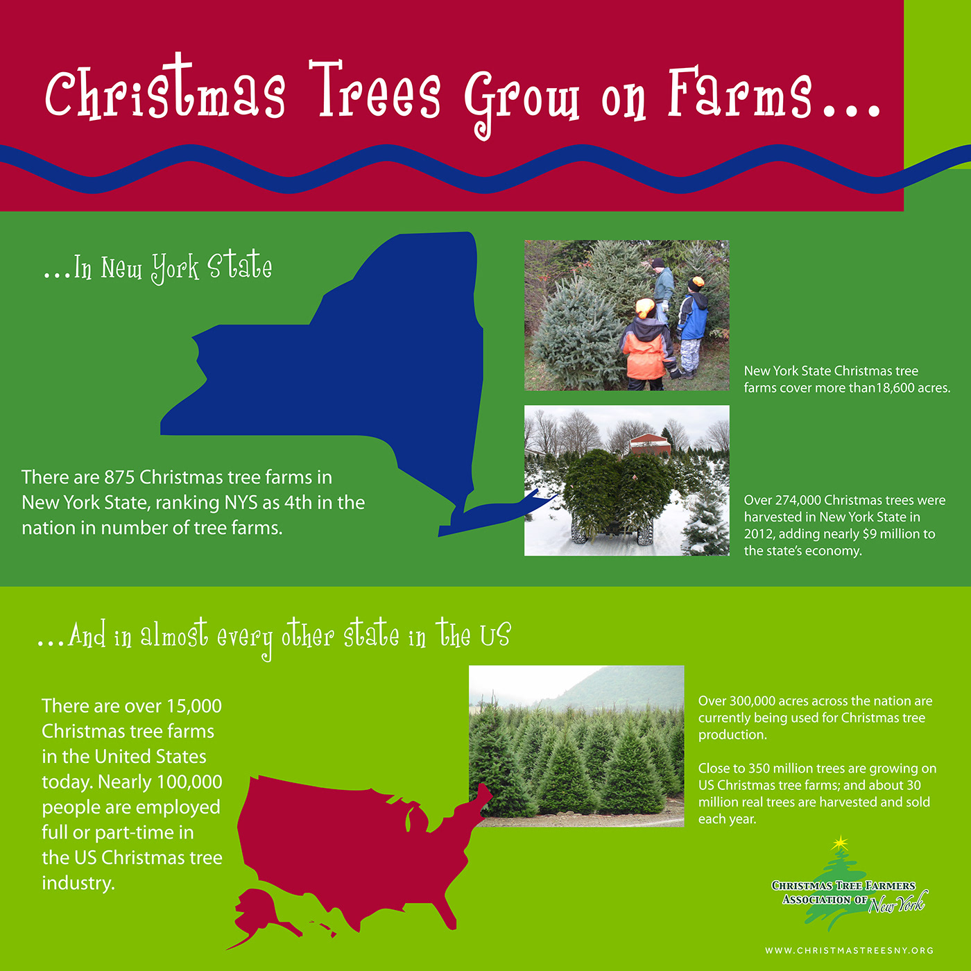 Christmas Tree Farmers Association Of New York On Behance