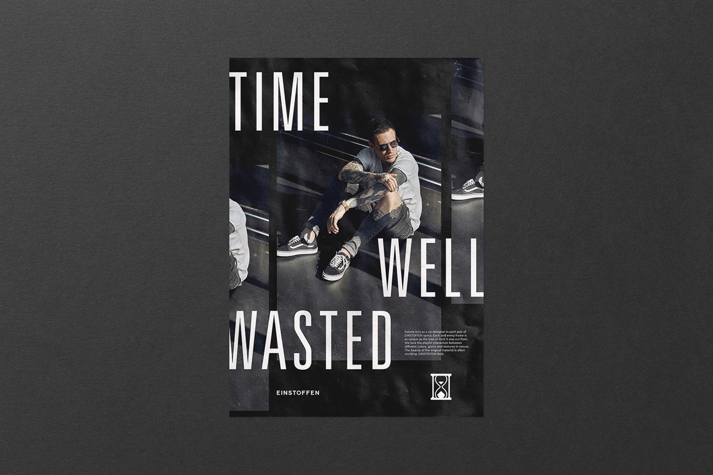 poster affiche plakat time t-shirts visuals Web