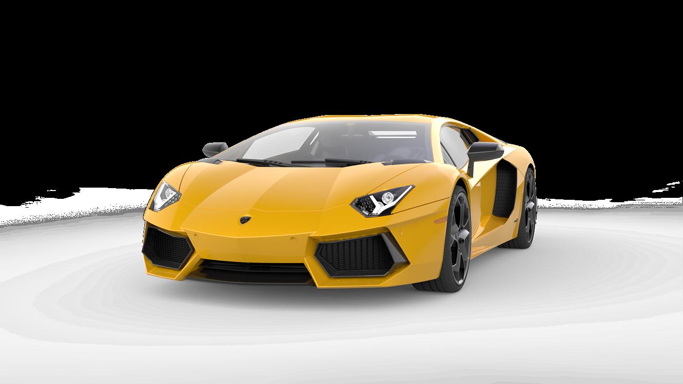 Lamborghini Aventador Cgi On Behance